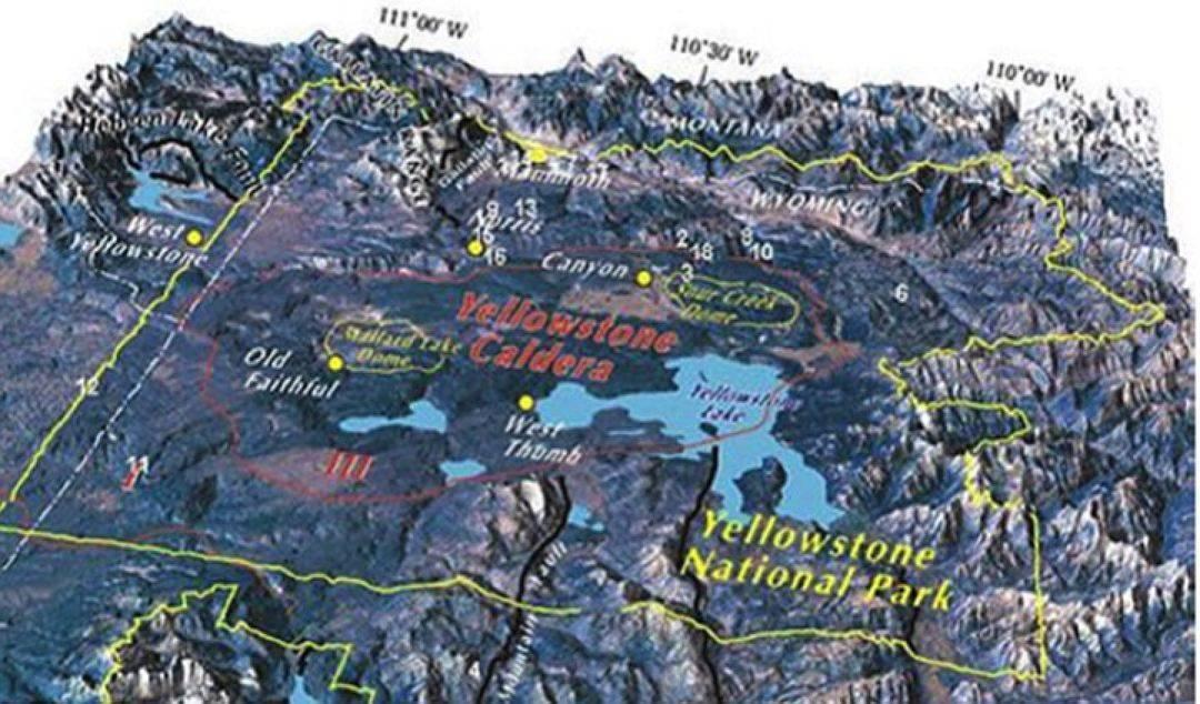 Мега вулкан йеллоустоун