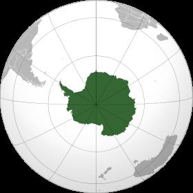 Площадь континентов по возрастанию