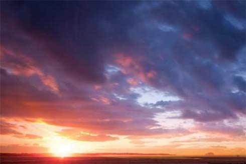 Как объяснить голубой цвет неба