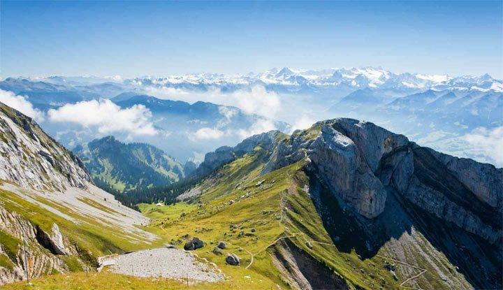 Красивое описание гор