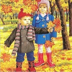 Природа осенью картинки для детей