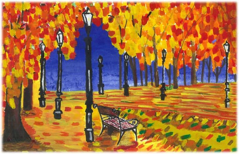 Сообщение на тему осень