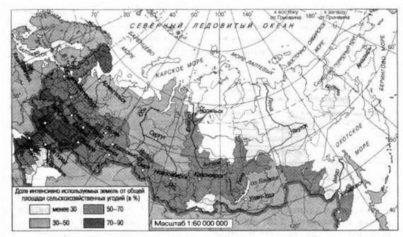 Земельные ресурсы россии кратко
