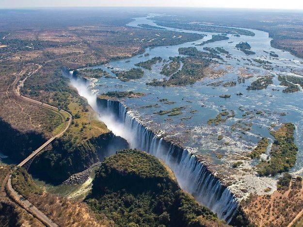 Кто создал водопад виктория