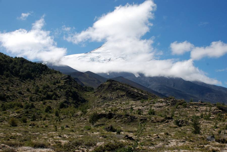 Чилийский вулкан
