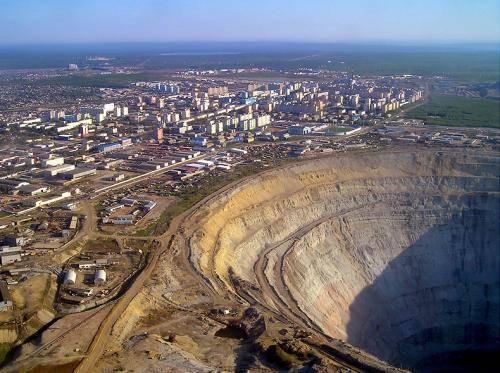 Размеры использования минеральных ресурсов