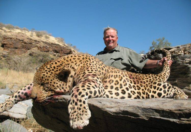 Леопард место обитания