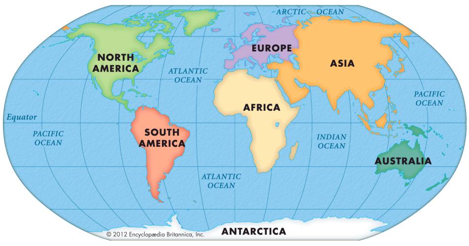 Сколько морей на земле и их названия