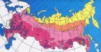 Типы климата на территории россии