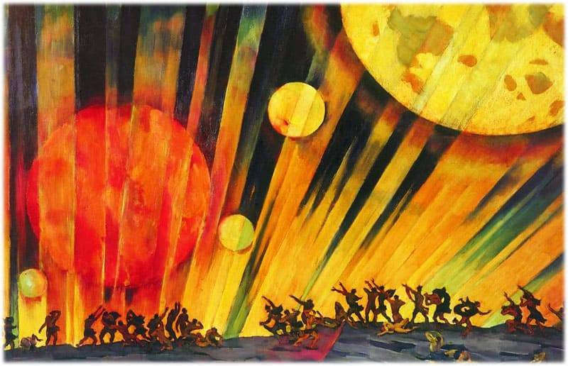 Интерпретация картины юона новая планета