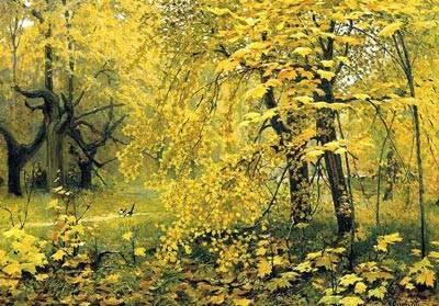 Сочинение описание картины золотая осень остроухова