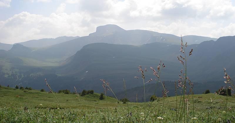 Рельеф гор