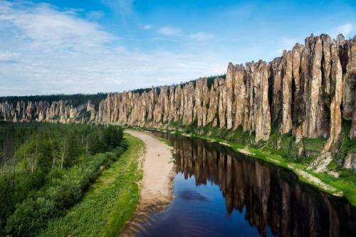 Самая длинная река в россии лена