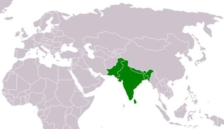 Южная азия климат