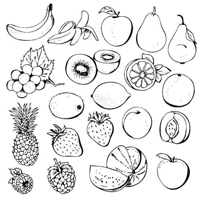Картинка ягода для детей