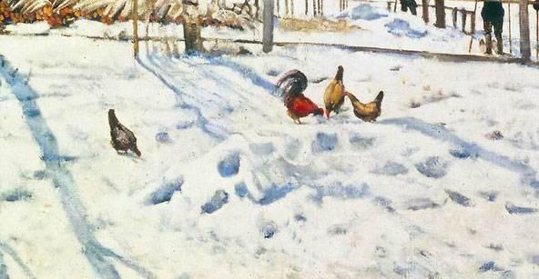 Сочинение на тему конец зимы