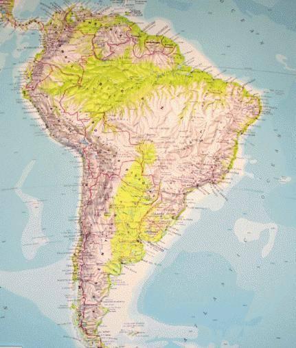 Описание рельефа местности