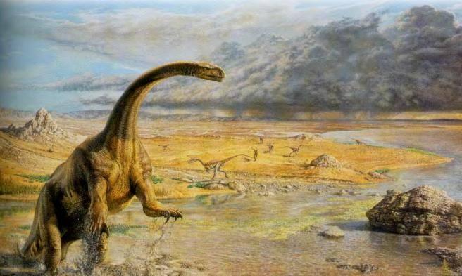 Когда появились первые динозавры на земле