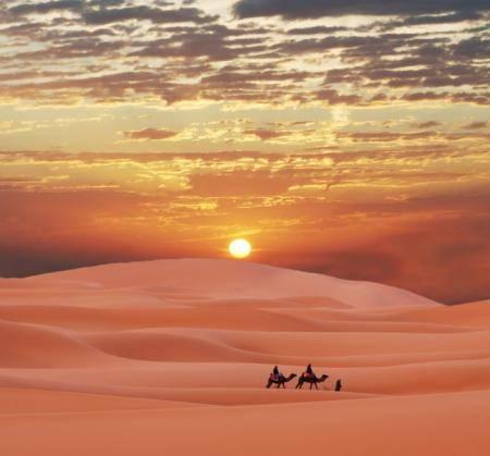 Климатические особенности пустыни