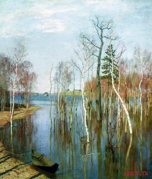 Сочинение на тему весна большая вода