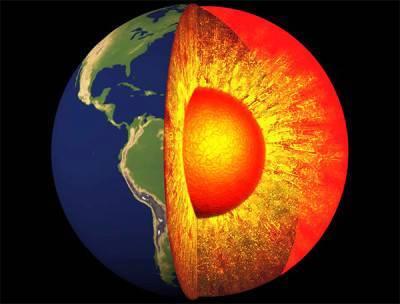 Сколько километров до ядра земли