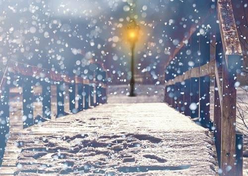 Описание снегопада