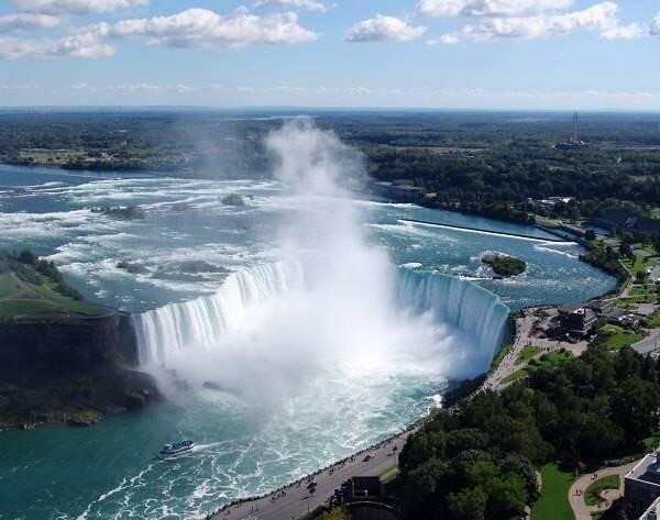 Где находится самый большой водопад в мире