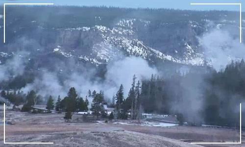Йеллоустонский вулкан веб камера онлайн