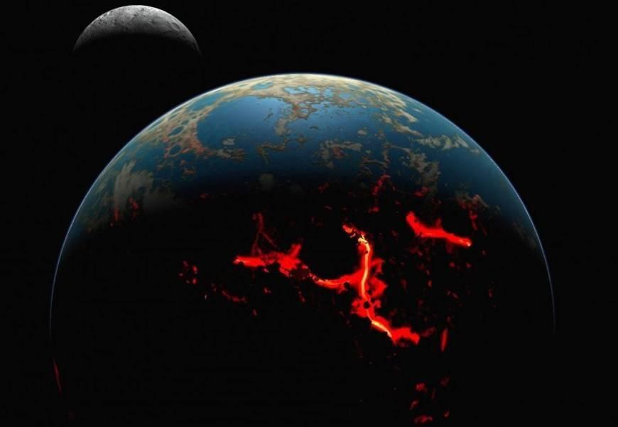 Чему равен радиус земли