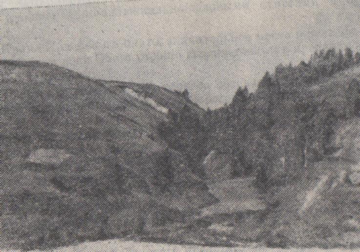 Рельеф реки