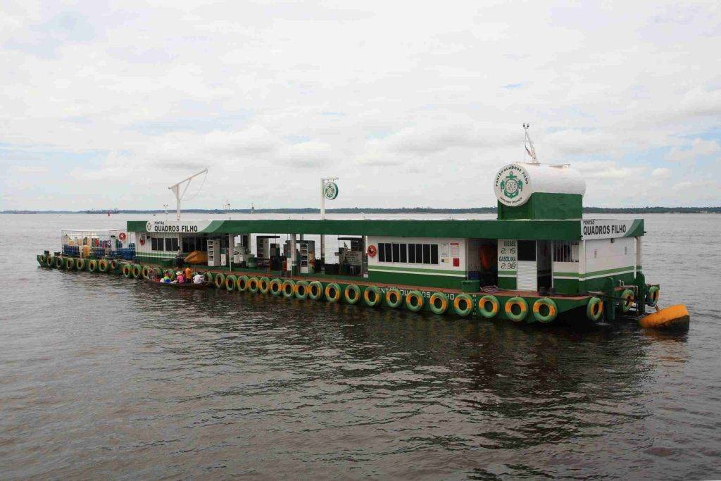 Где расположена река амазонка