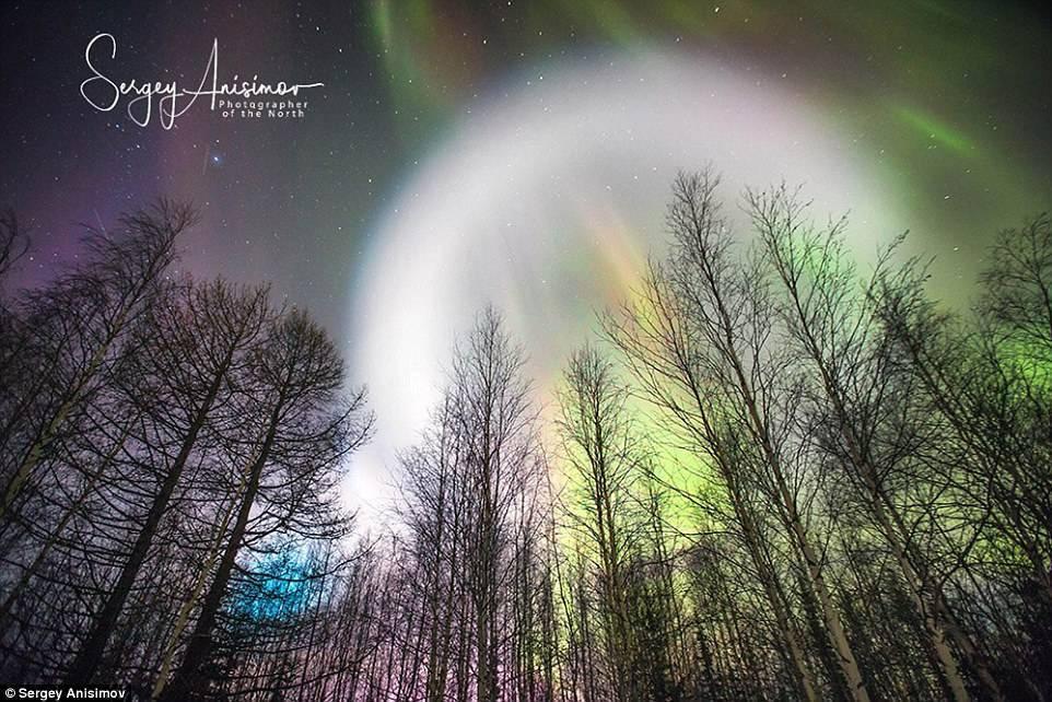 Необычные явления в небе