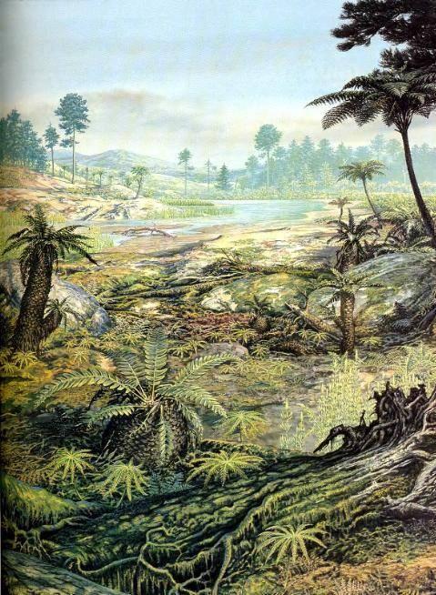 Какие динозавры жили в юрском периоде