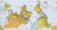 Австралия на карте мира фото