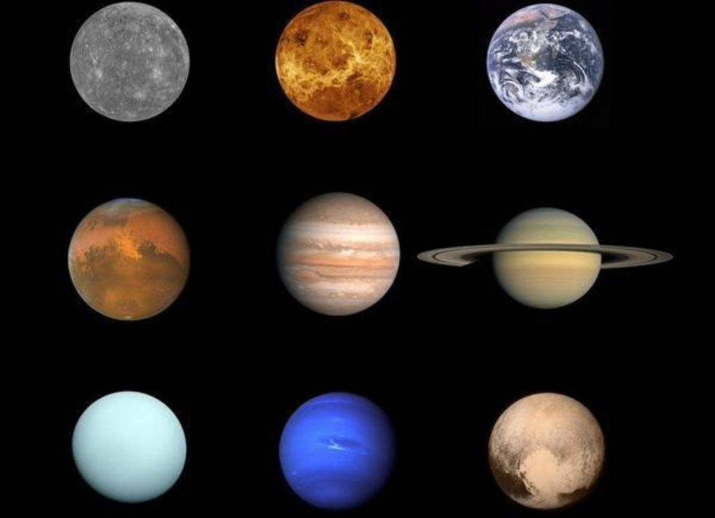 Самая легкая планета солнечной системы
