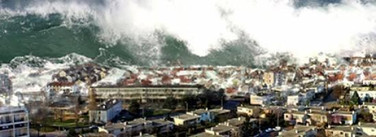 Происхождение цунами