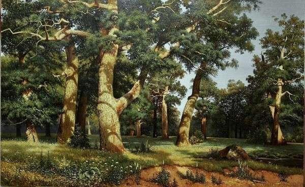 Анализ картины шишкина утро в сосновом лесу