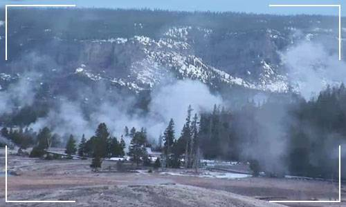 Йеллоустоун вулкан веб камера онлайн