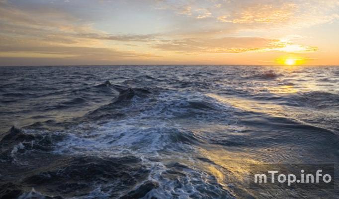 Размеры океанов по убыванию