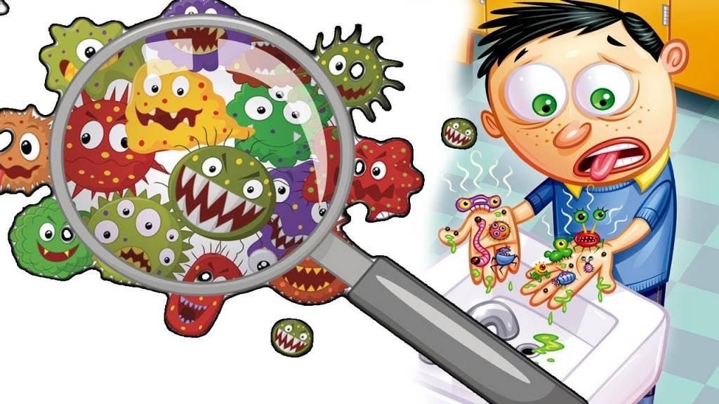 Сообщение о микробах
