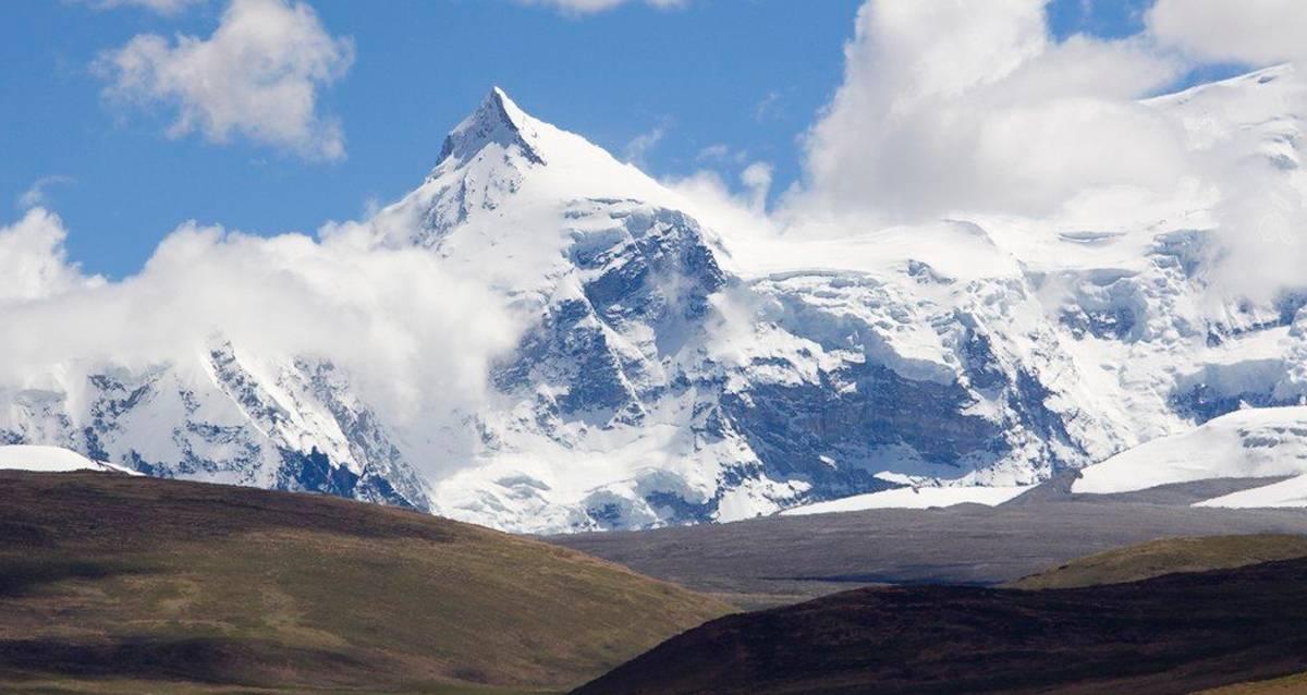 Какая высота горы
