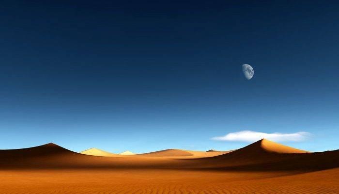 Самая большая африканская пустыня