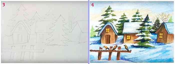 Рисуем природу с детьми