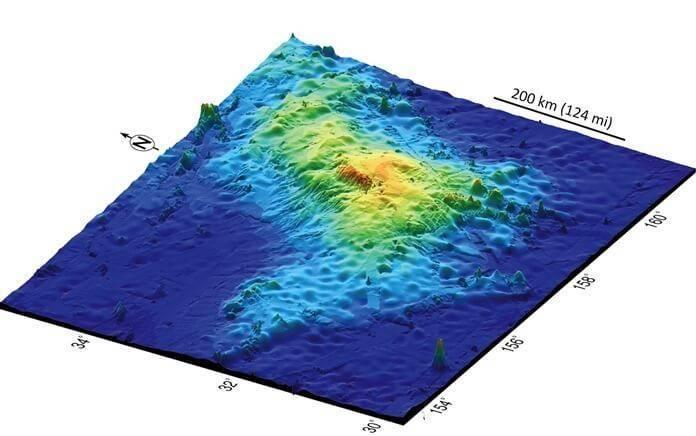 Самый высокий вулкан на земле