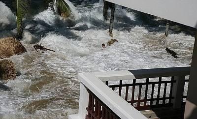 Признаки появления цунами