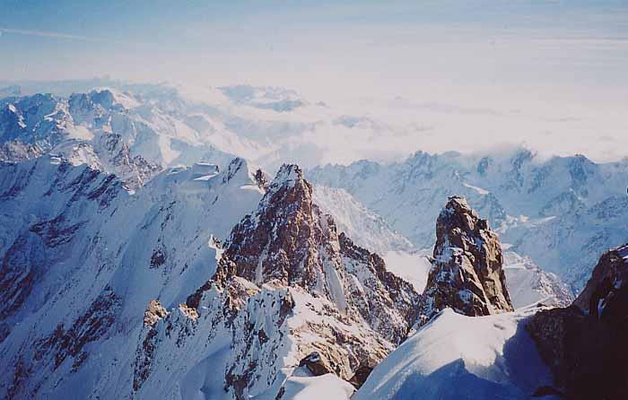 Высота некоторых гор россии