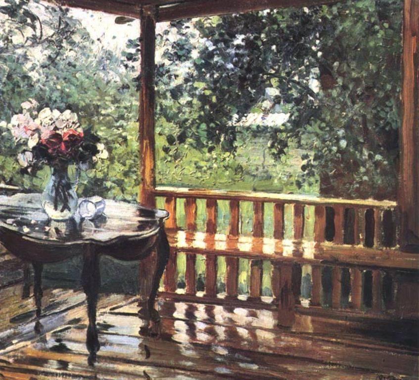 Репродукция картины герасимова после дождя
