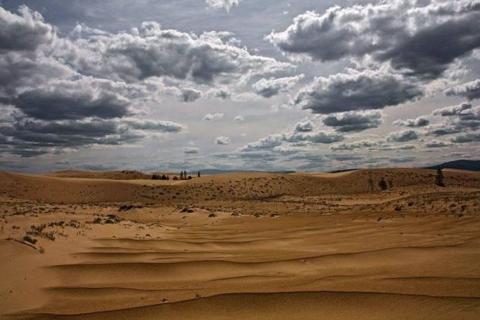 Климатические условия тропических пустынь