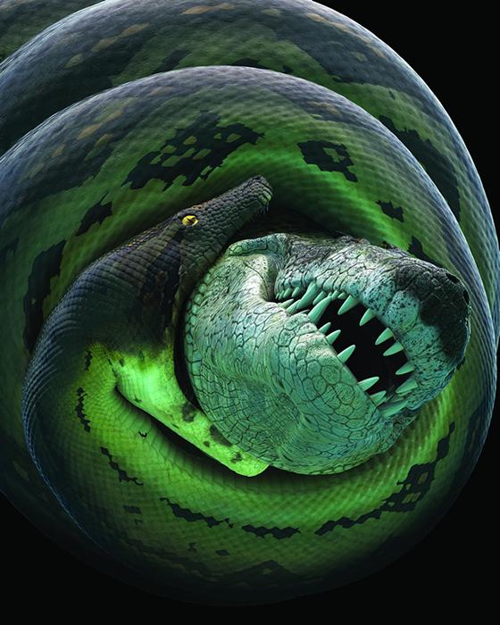 Гигантофис змея