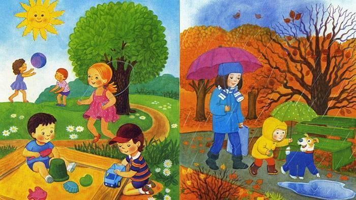 Природные явления картинки для детского сада